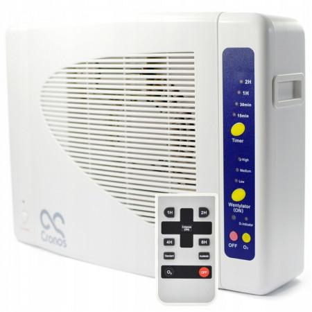 Przemysłowy generator ozonu + jonizator + oczyszczacz powietrza 3w1 7000 mg/h
