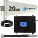 Komplet GSM/DCS LCD2000 Tajfun 15m z bat