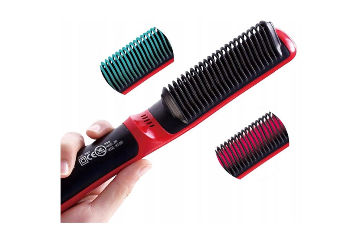 Szczotka do włosów i brody 2w1