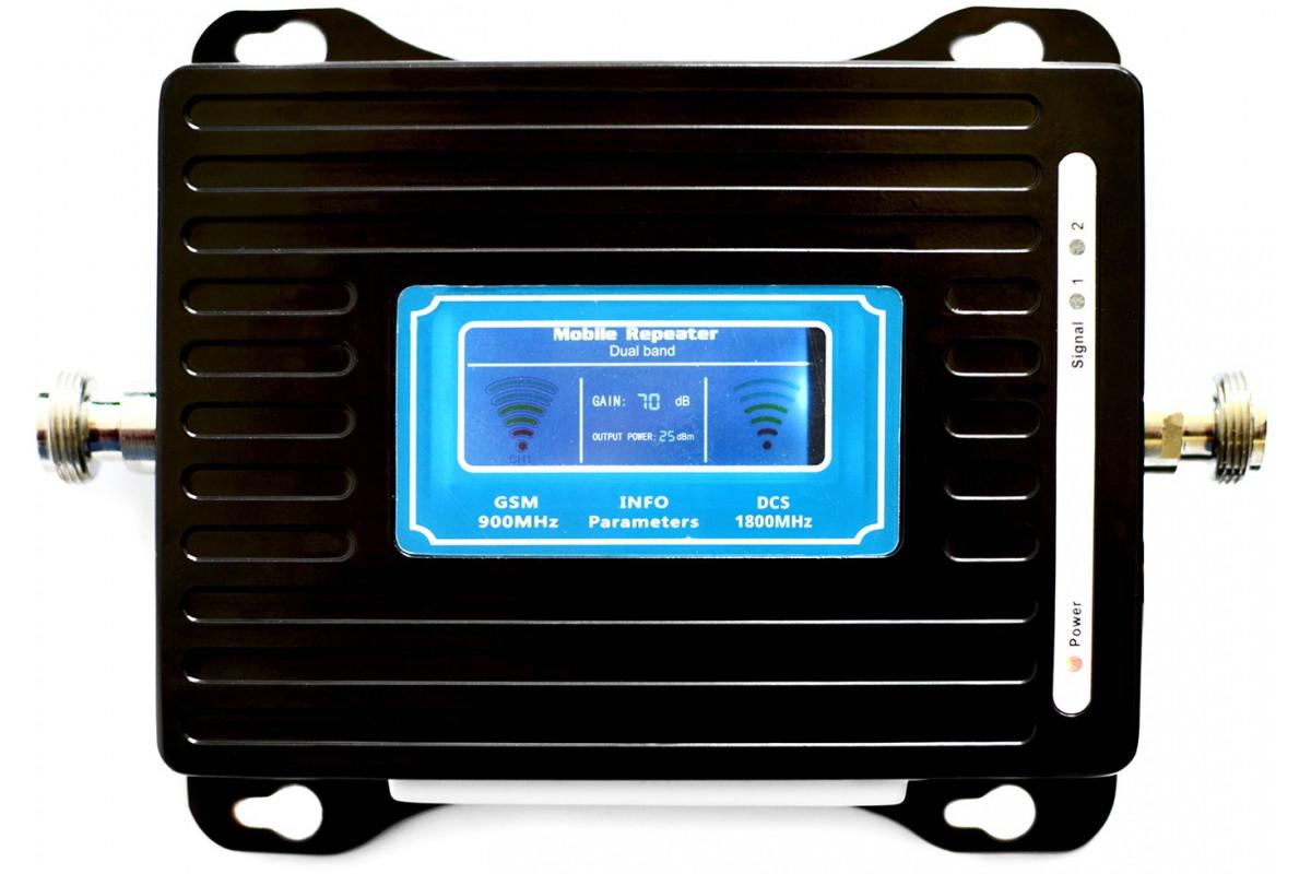 GSM/DCS LCD3000 z wbudowaną anteną + Tajfun II