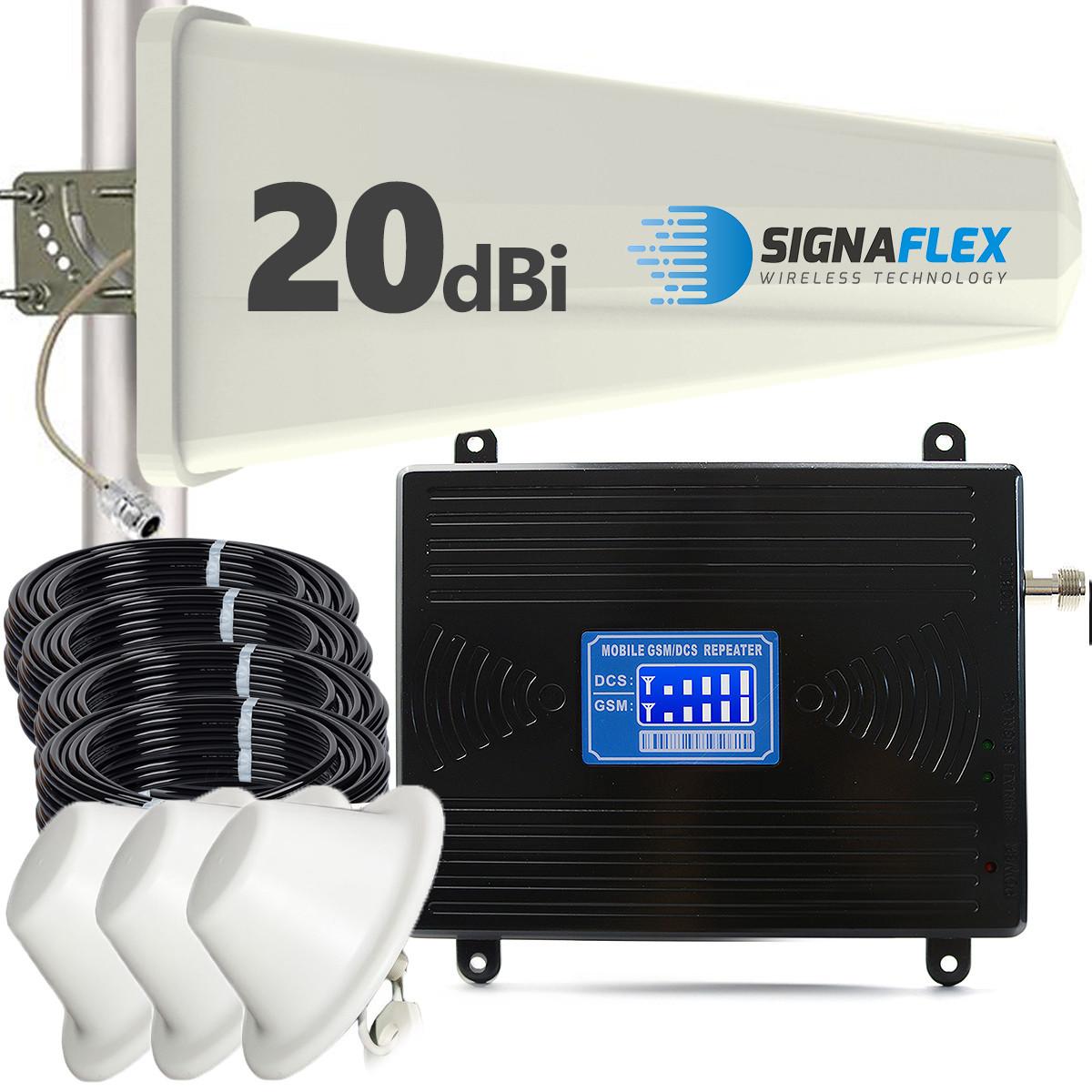 Komplet GSM/DCS LCD2000 Tajfun z 3x grzybek