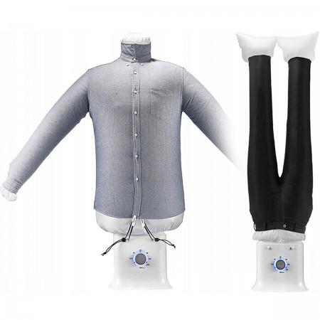 Elektryczna suszarka do ubrań + prasownica 850W 2w1 MX-ID-2