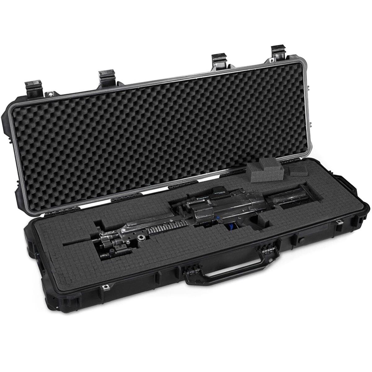 Duża walizka na broń z zaworem wyrównawczym