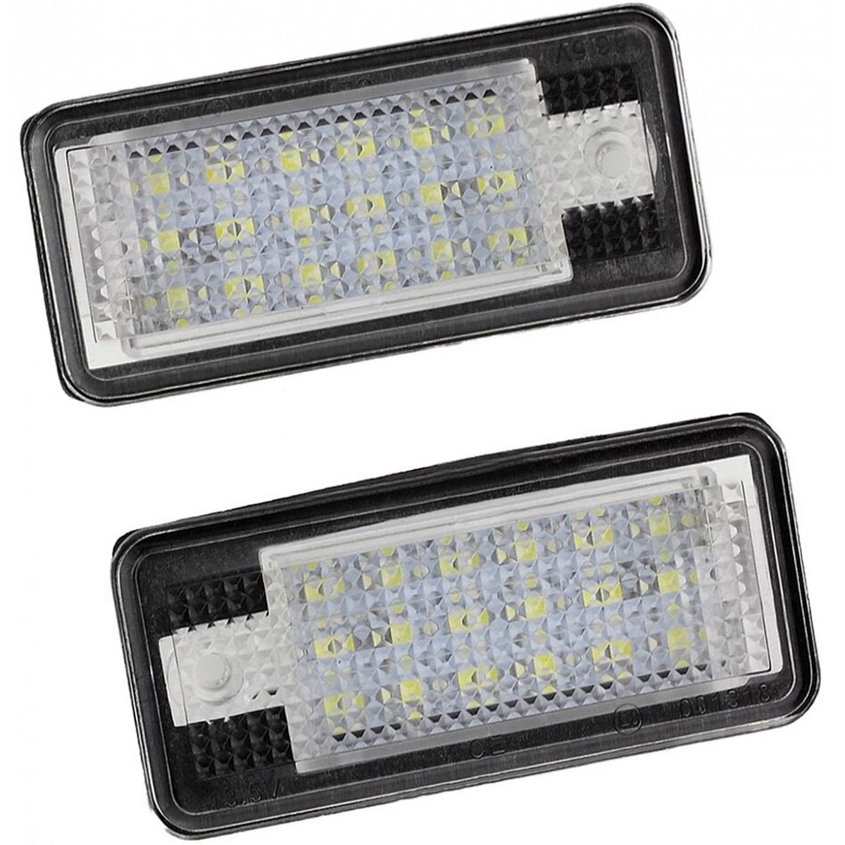 Kpl. lampek LED do podświetlenia tablicy rejestracyjnej (Audi)