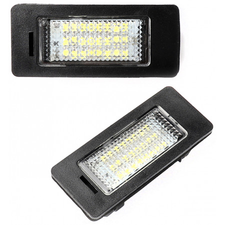 Kpl. lampek LED do podświetlenia tablicy rejestracyjnej (BMW)