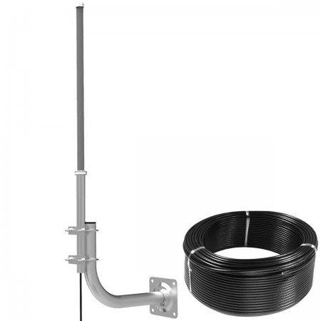 Antena Omni 3G/4G 8/12dBi TRANSDATA-FIBERGLASS z 10m FME + konektor SMA