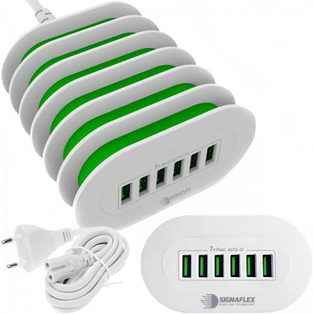 Ładowarka / listwa zasilająca 6x USB