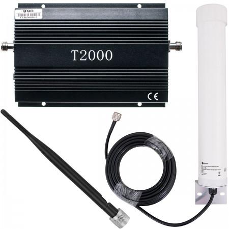 Komplet T2000 + Tube 10/12 dBi + bat 5 dBi