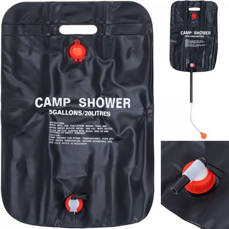 Solarny prysznic turystyczny 20L