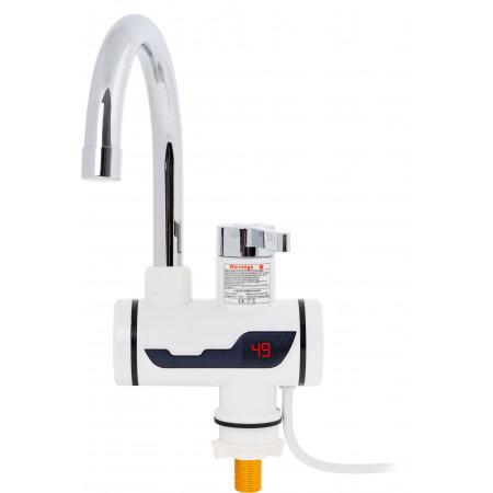 Elektryczny przepływowy umywalkowy podgrzewacz wody 3000W LCD