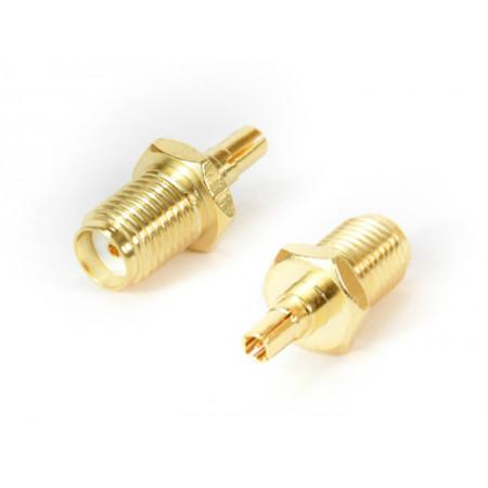 Konektor beczka SMAż - CRC9