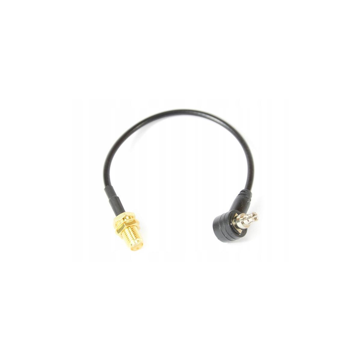 Konektor 15cm SMAż-CRC9 (kątowy)
