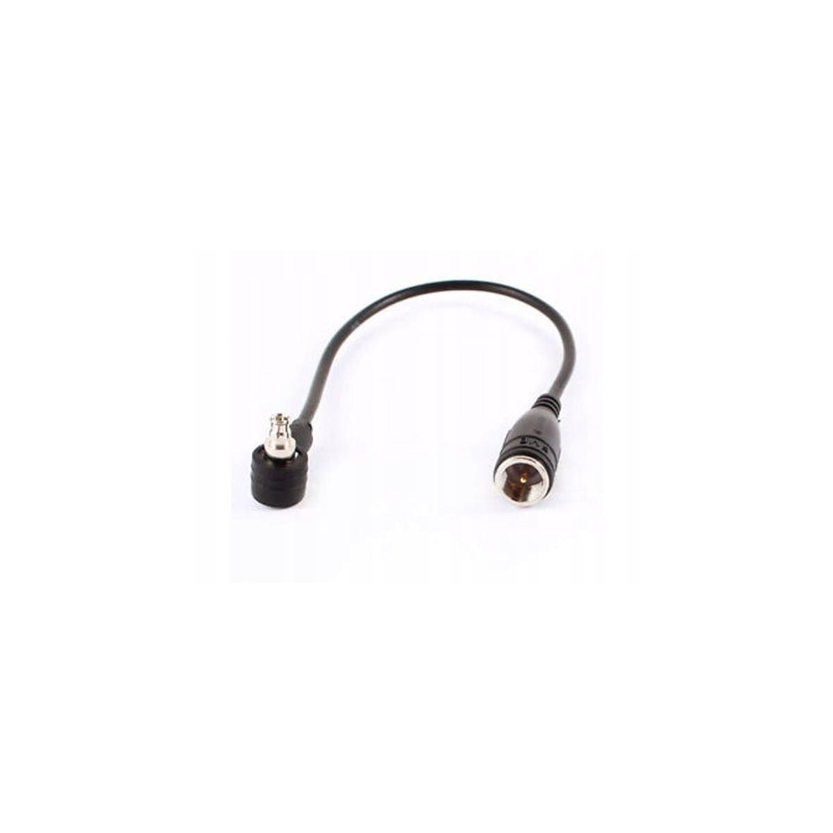 Konektor 15cm FMEm na TS9 (kątowy)