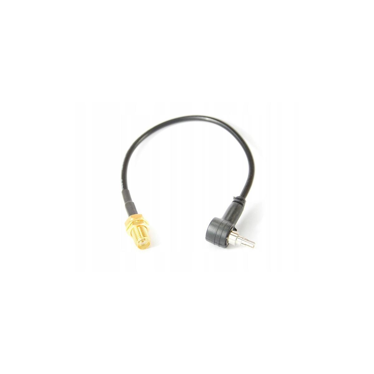 Konektor 15cm SMAż na CRC9/TS9