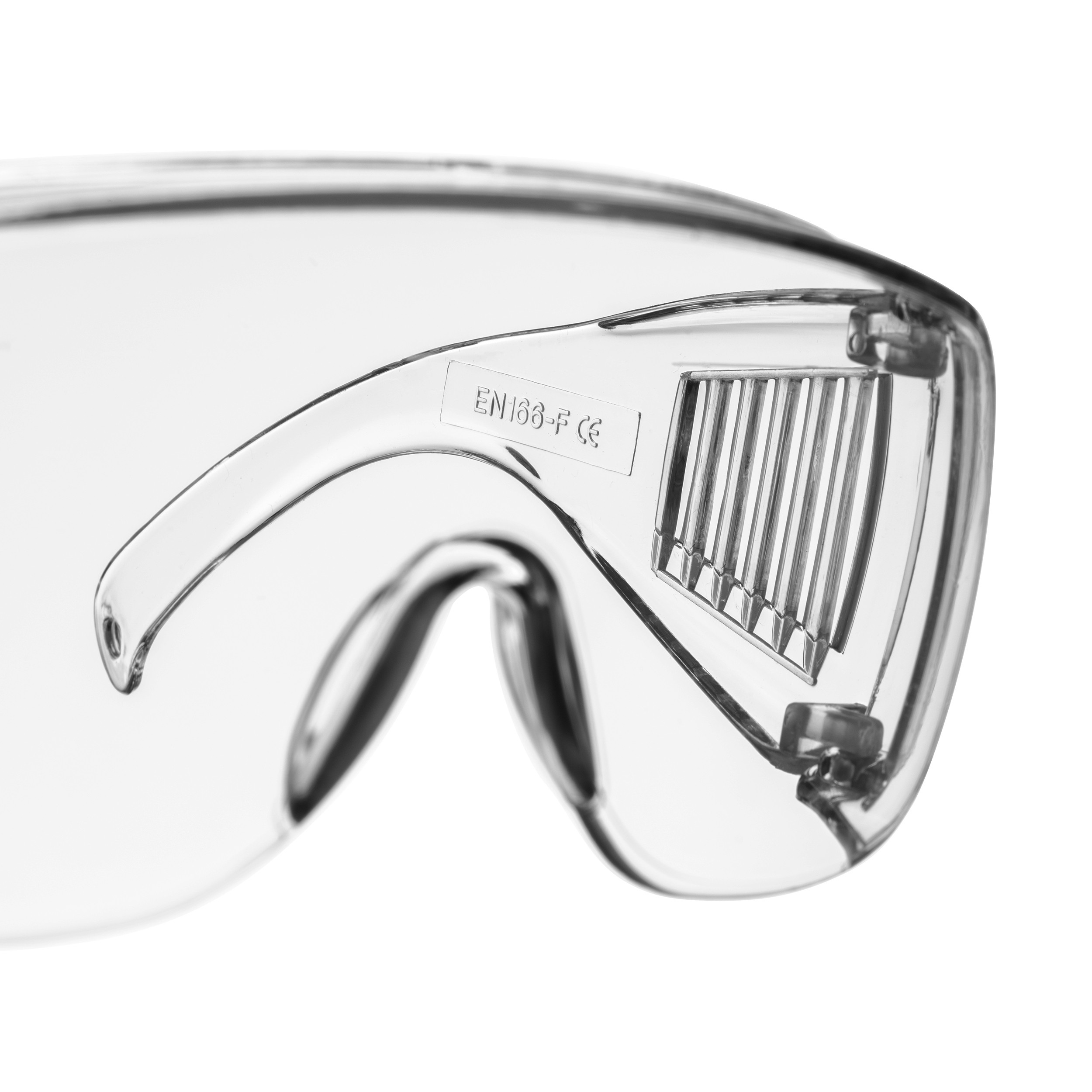 Okulary ochronne bokiem