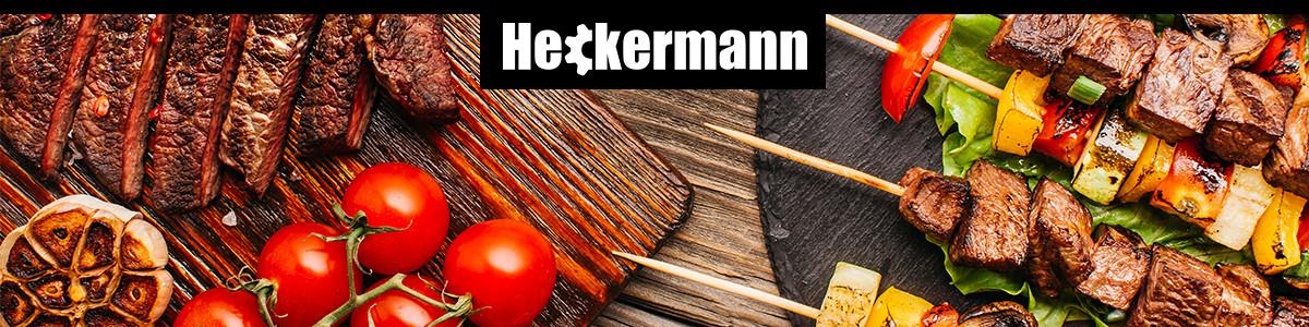 Baner z logiem marki grilli gazowych Heckermann