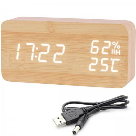 Zegar budzik elektroniczny 5w1