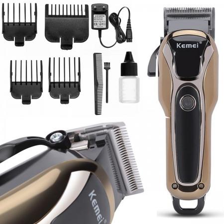 Maszynka do strzyżenia włosów Kemei + akcesoria