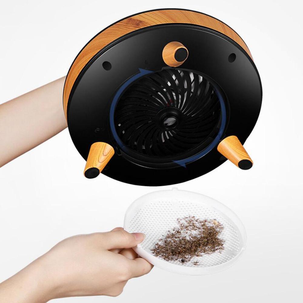 Lampa owadobójcza marki Cronos i pojemnik na owady