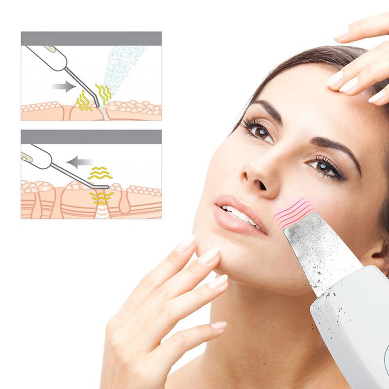 Efekty użycia skin scrubbera