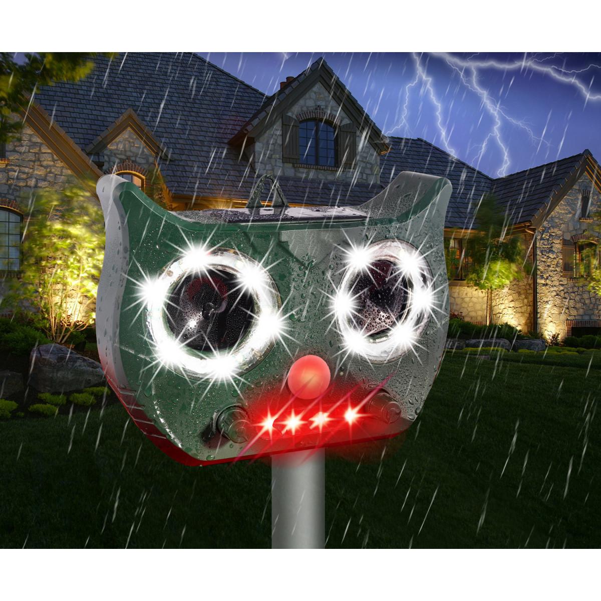 Mokry od deszczu solarny odstraszacz gryzoni BR-901