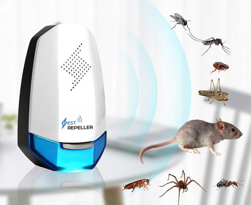 Odstraszacz na myszy niebieski i miniaturki zwierząt