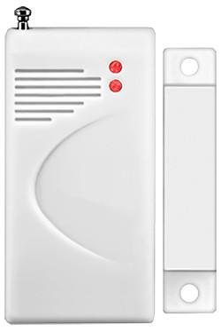 Czujka okno/drzwi na białym tle