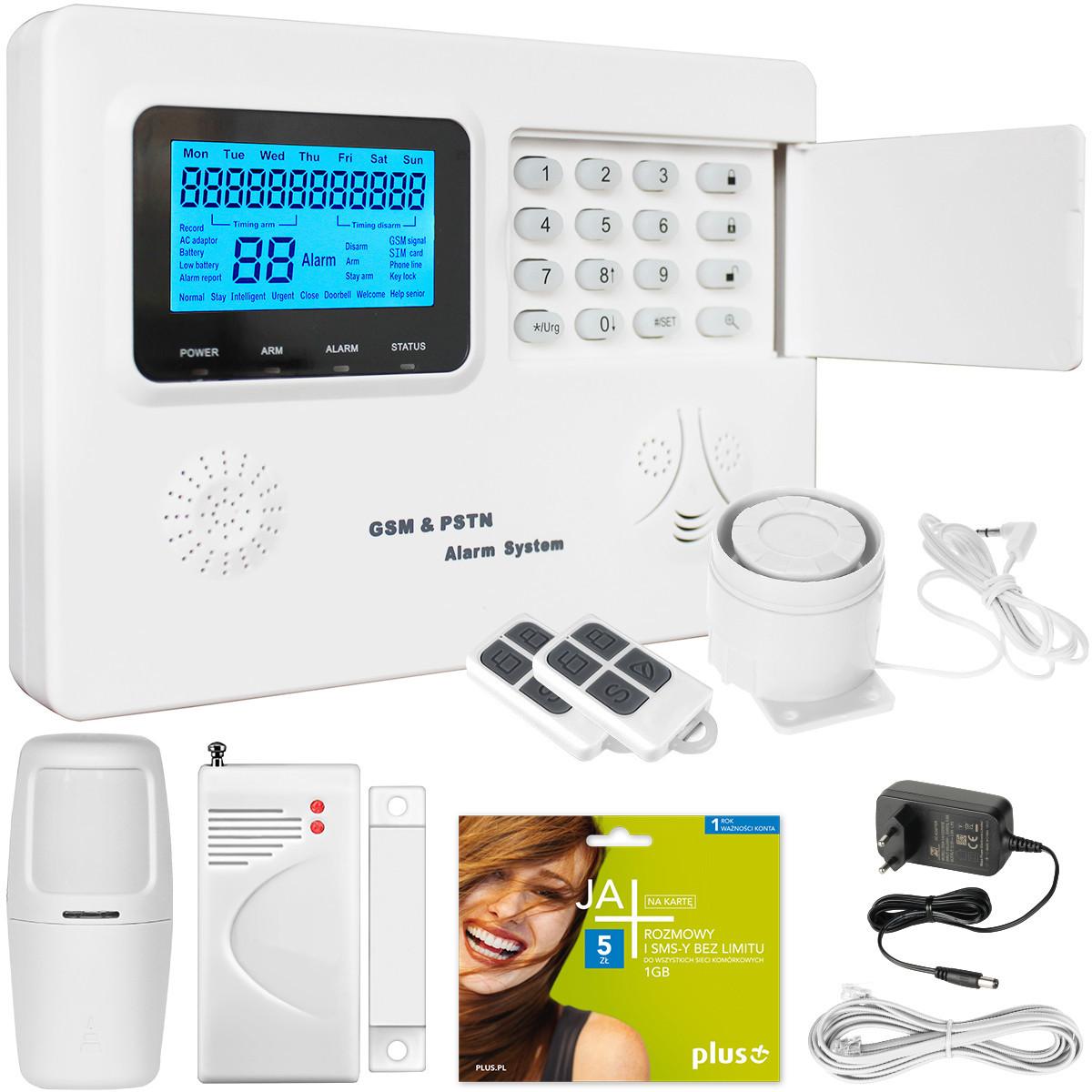 Alarm domowy GSM RED III McDowell