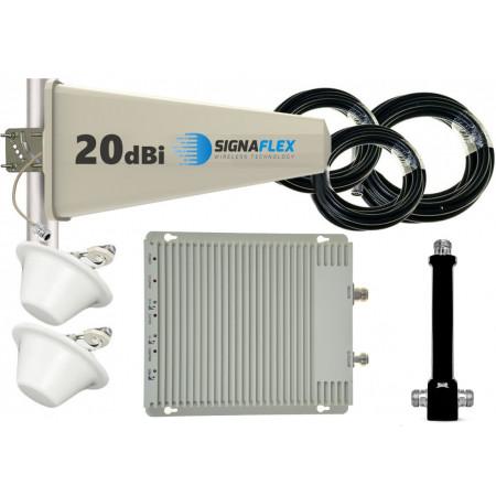 Komplet GSM/UMTS/DCS SZARY Tajfun 2xgrzybek