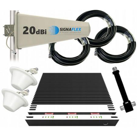 Komplet GSM/UMTS/DCS TRIPLE Tajfun z 2x grzybek