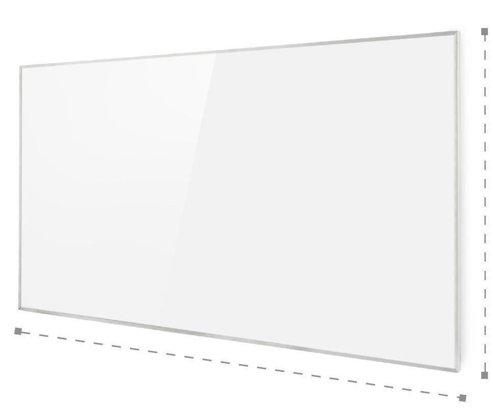 Promiennik podczerwieni i wymiary