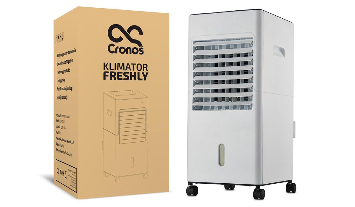 Klimator ewaporacyjny Freshly i oryginalne pudełko Cronos
