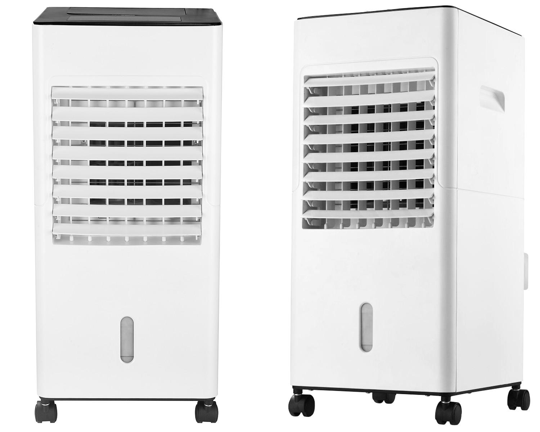 Klimator ewaporacyjny Freshly od przodu i od boku