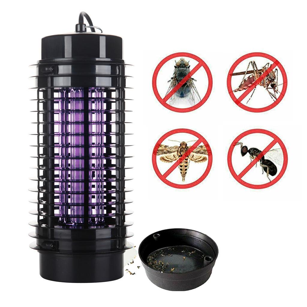 Lampa owadobójcza Heckermann i grafika komara i muchy