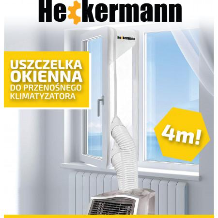 Uszczelka okienna do klimatyzatora przenośnego Heckermann 4m