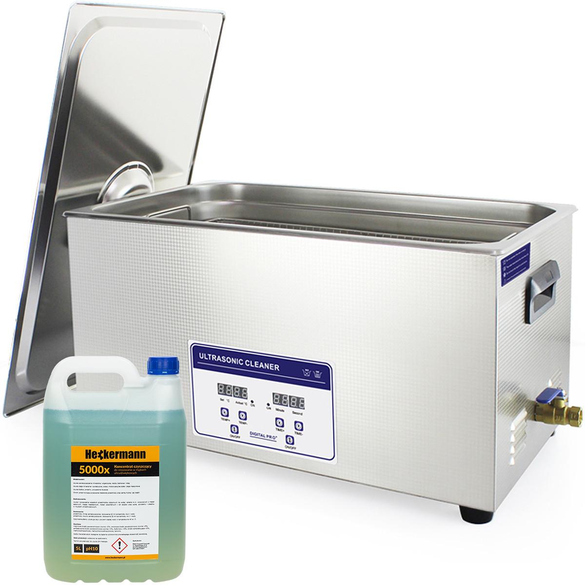 Myjka ultradźwiękowa JP-080S 22L
