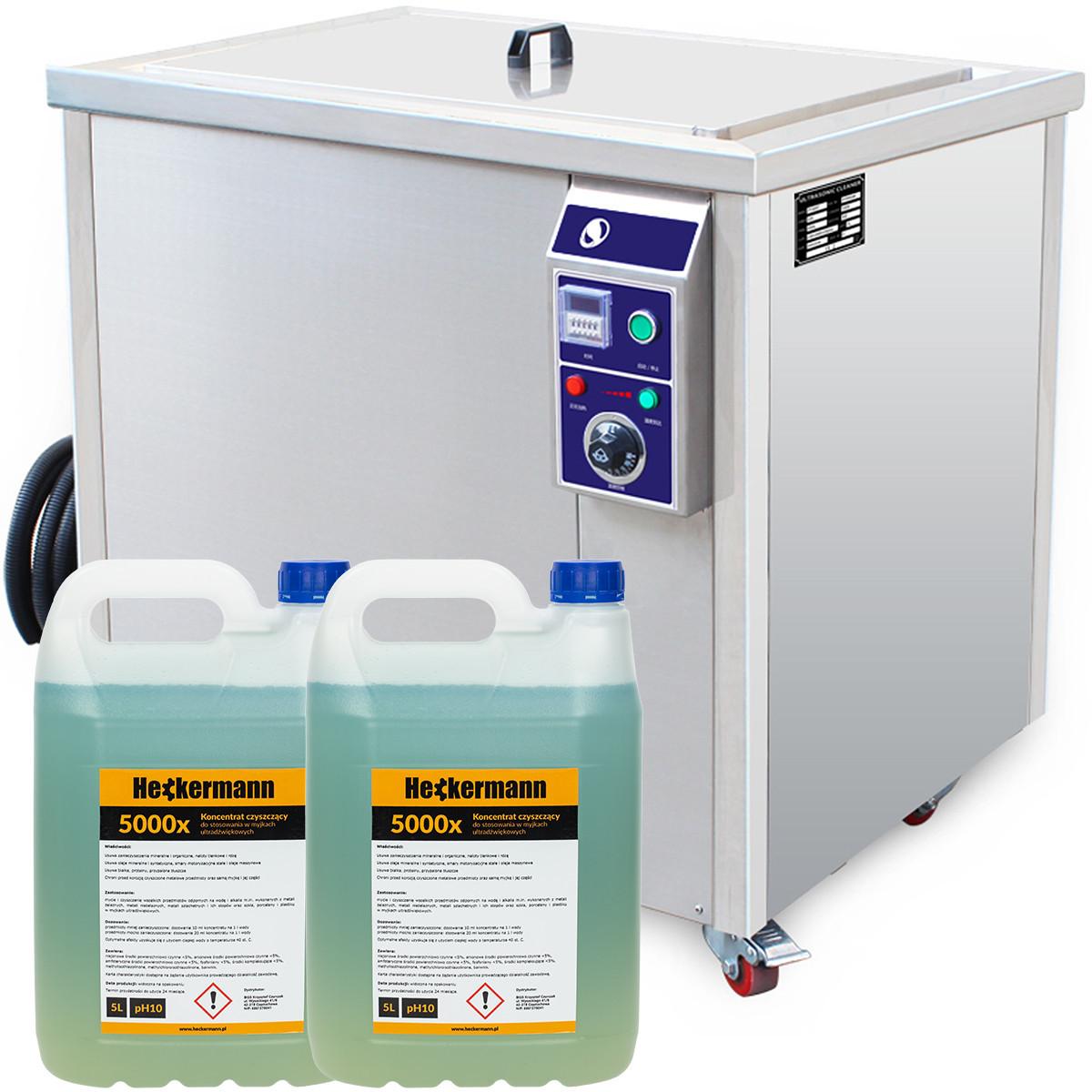 Myjka ultradźwiękowa JP360ST 135L