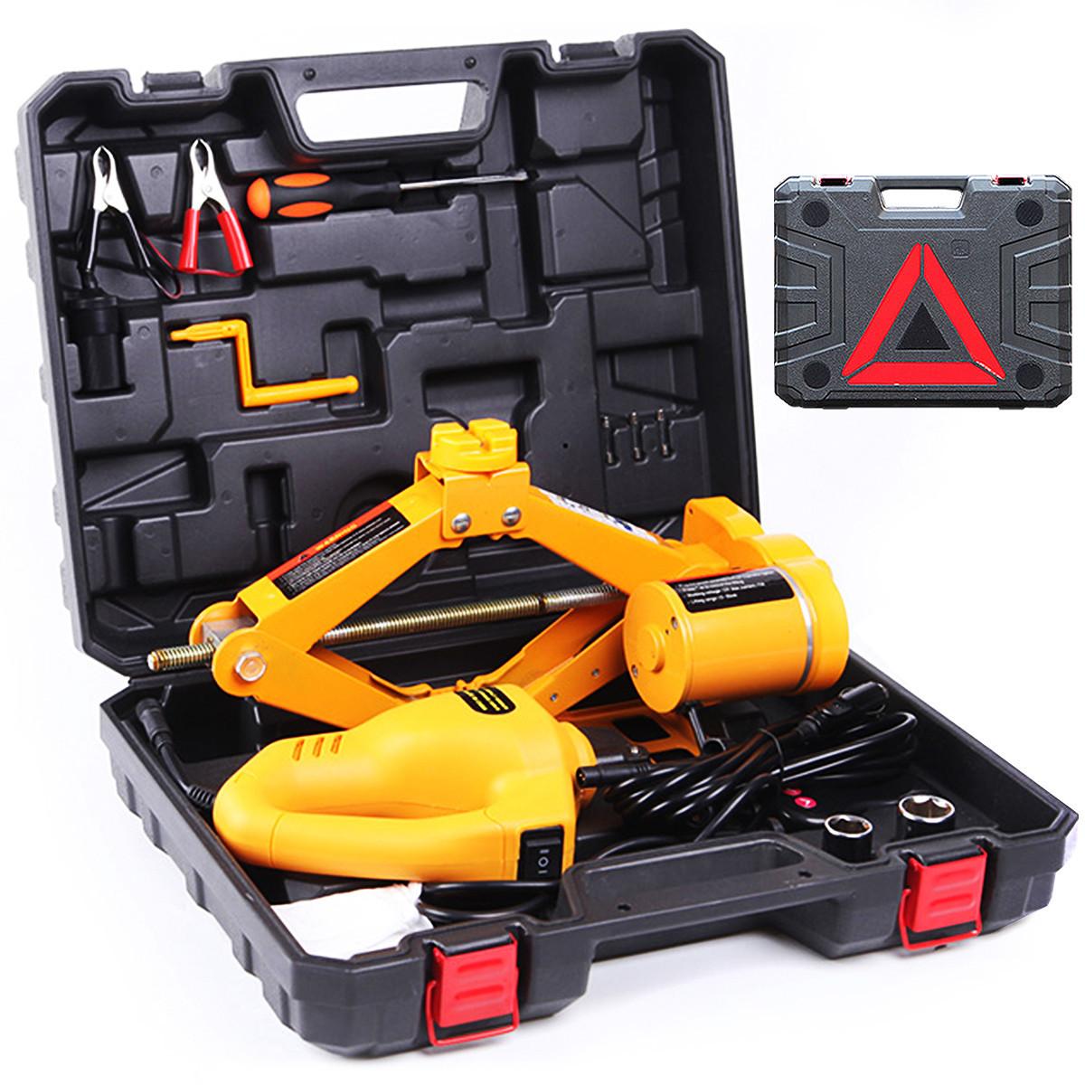 Podnośnik samochodowy lewarek + klucz automatyczny TY-EJ03