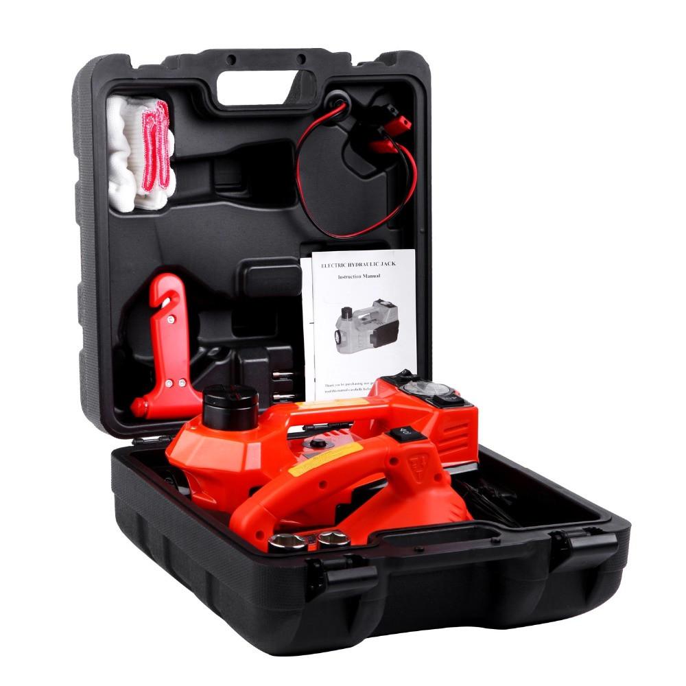 Podnośnik samochodowy lewarek i klucz automatyczny w walizce