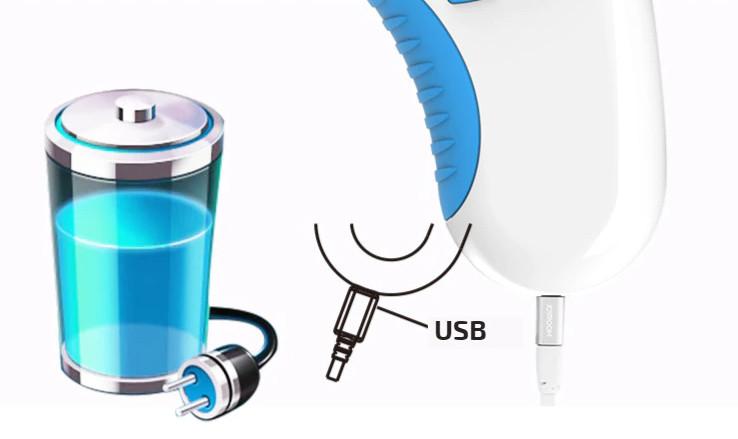 Miernik ozonu i kabel USB