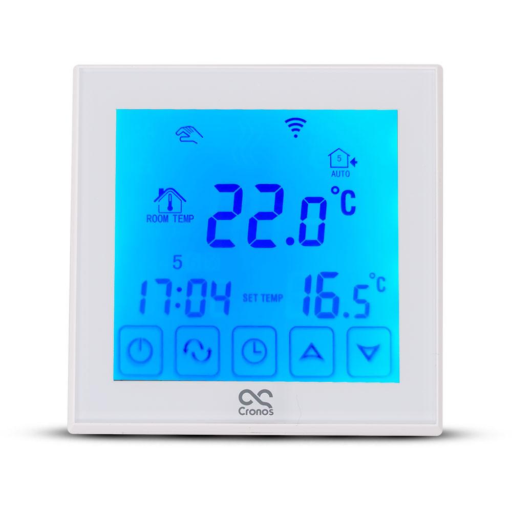 Włączony termostat do grafenowej folii grzewczej na podczerwień Cronos