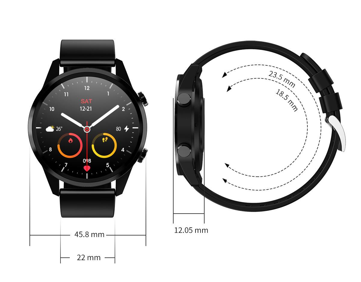 Wymiary zegarka smartwatch