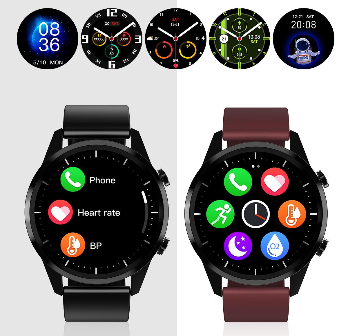 Smartwatch i możliwości wyboru wyglądu interfejsu
