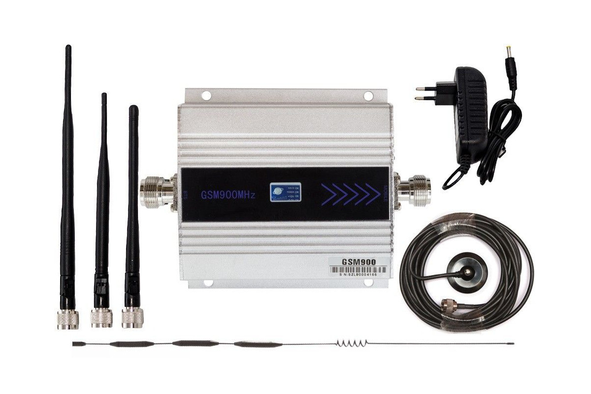 ARCHIWUM Komplet GSM silver LCD Omni 15 dBI z bat
