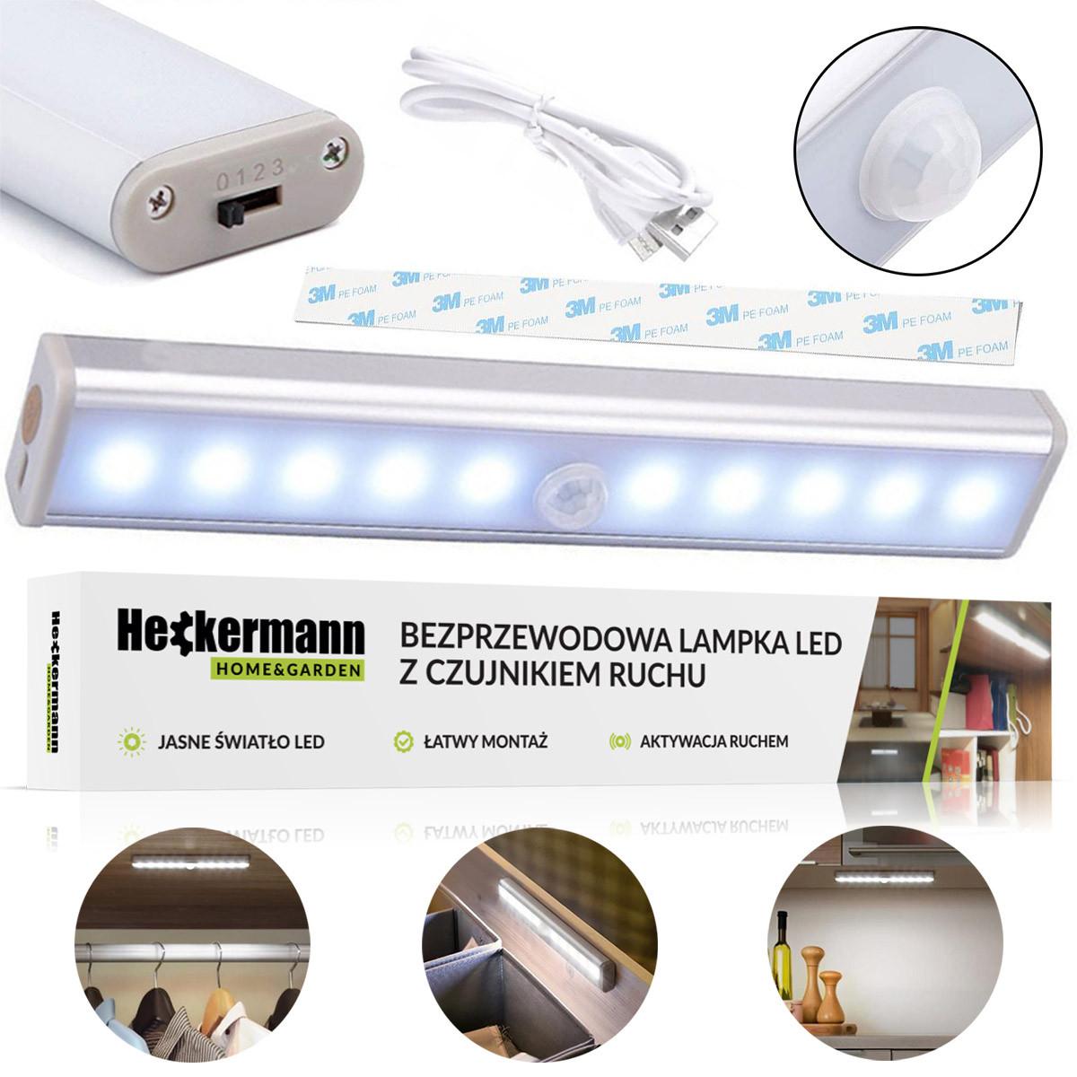 Lampa listwa LED bezprzewodowa YY-A1/2/3