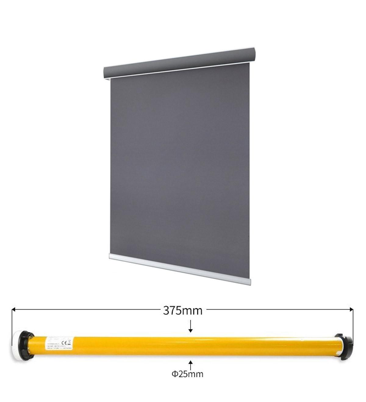 Wymiary rolety okiennej grafitowej