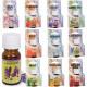 Zestaw 10 olejków zapachowych do aromaterapii