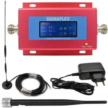 Komplet: wzmacniacz GSM RED + Omni z bat