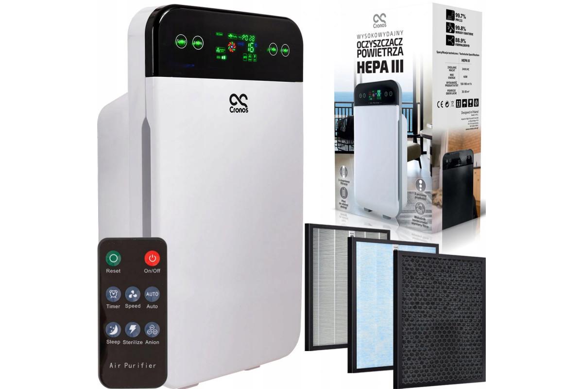 Oczyszczacz powietrza Cronos HEPA III