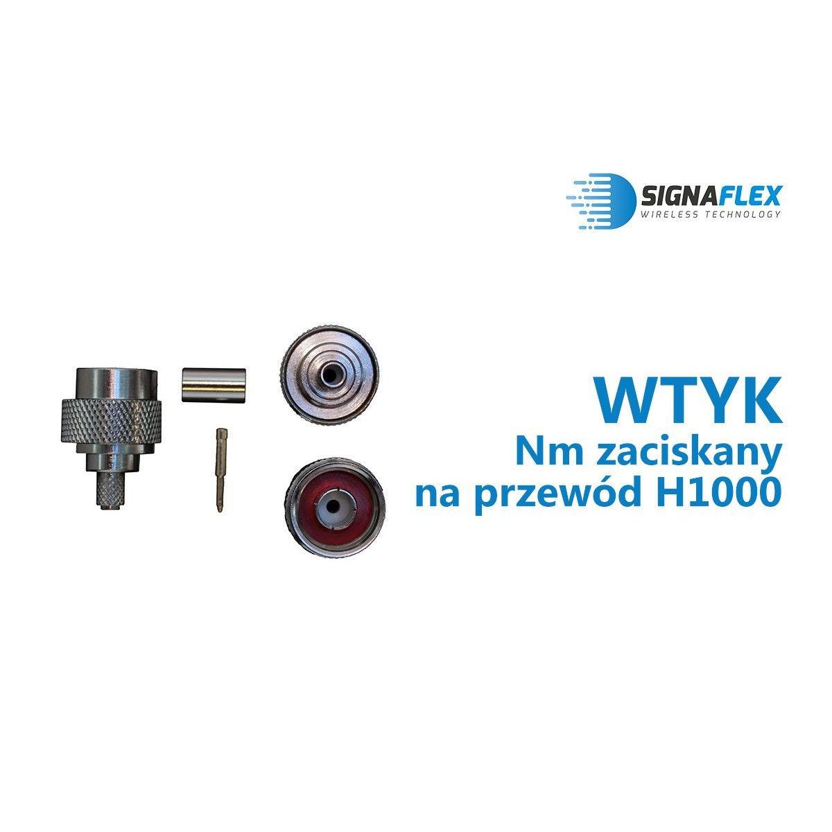 Wtyk Nm na przewód H1000/SRF400